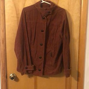 Relatively | Women's Corduroy Button Up Jacket